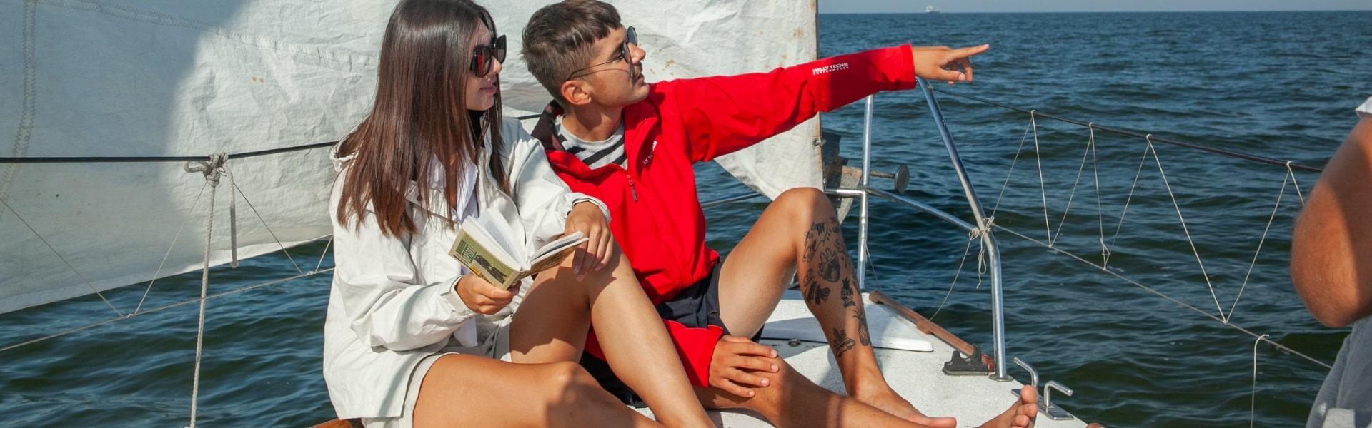 Оренда яхти «Ольга Red» в Херсоні