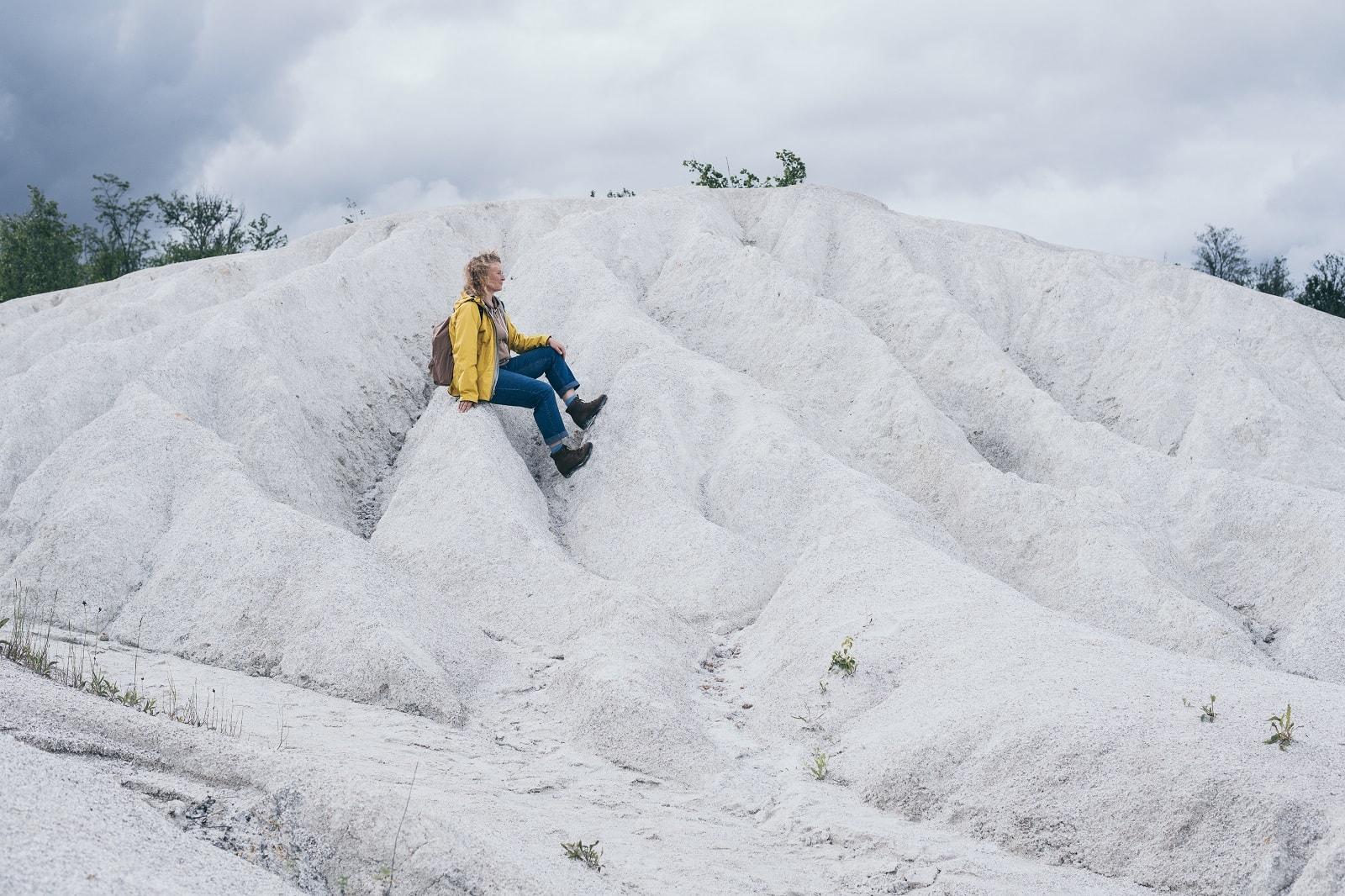Фото в Актовському на білих скелях