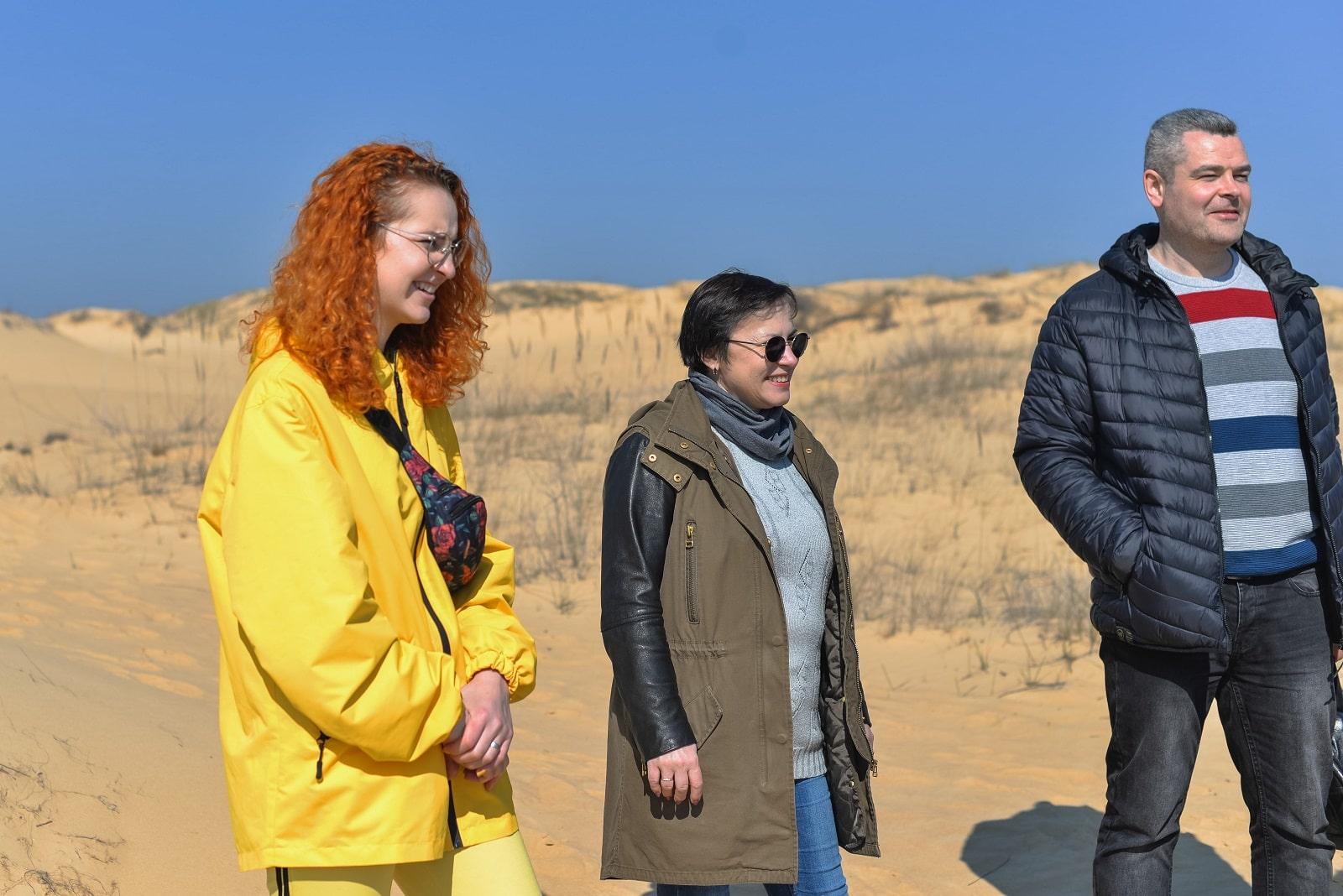 Гості ХерсON в Олешківських пісках