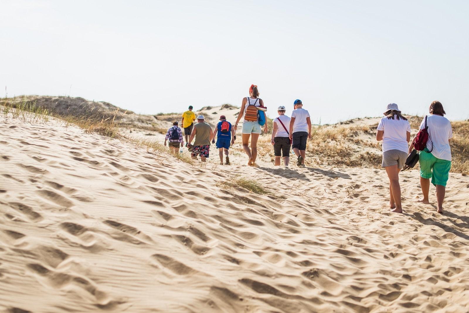 Тур в Олешковские пески
