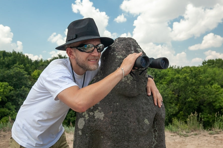 Каменные бабы в Аскании-Нова