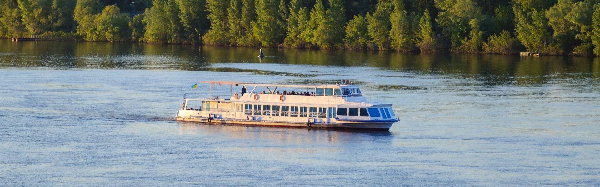 Аренда катера «Очаков» в Херсоне