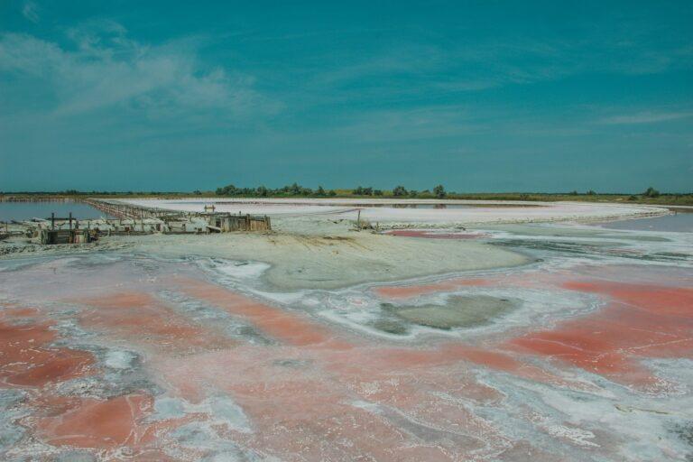 Висушене соляне озеро