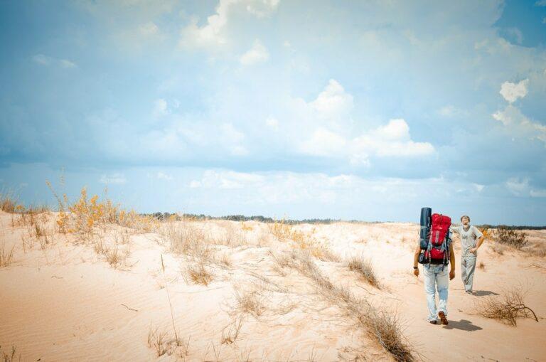 Прогулянка в Олешківських пісках