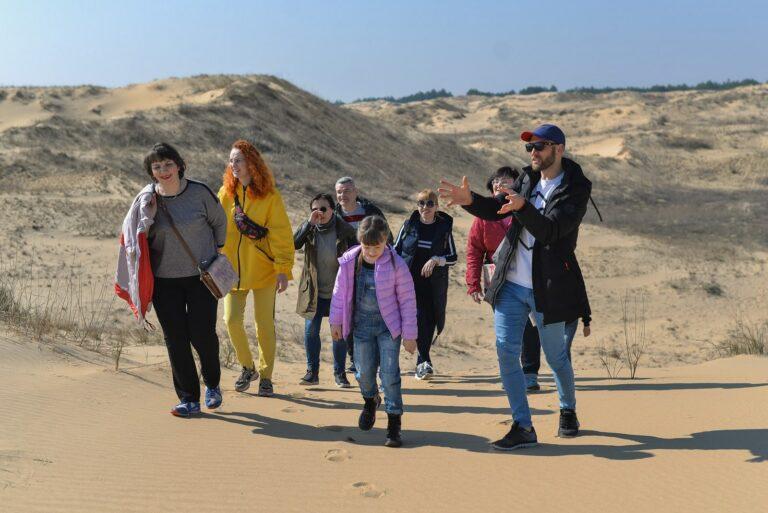 Маршрути в пустелі Олешківські піски