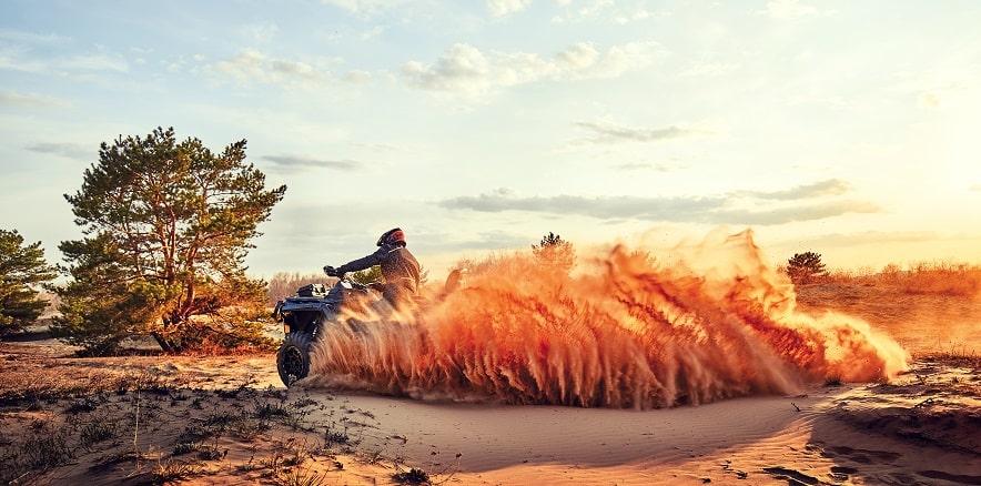 Аренда квадроциклов в Олешковских песках