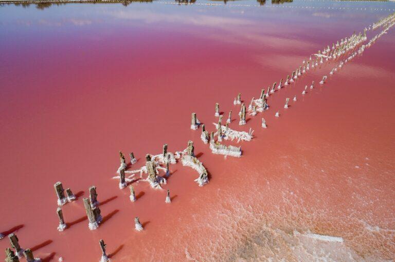 Рожеві озера, Кінбурн