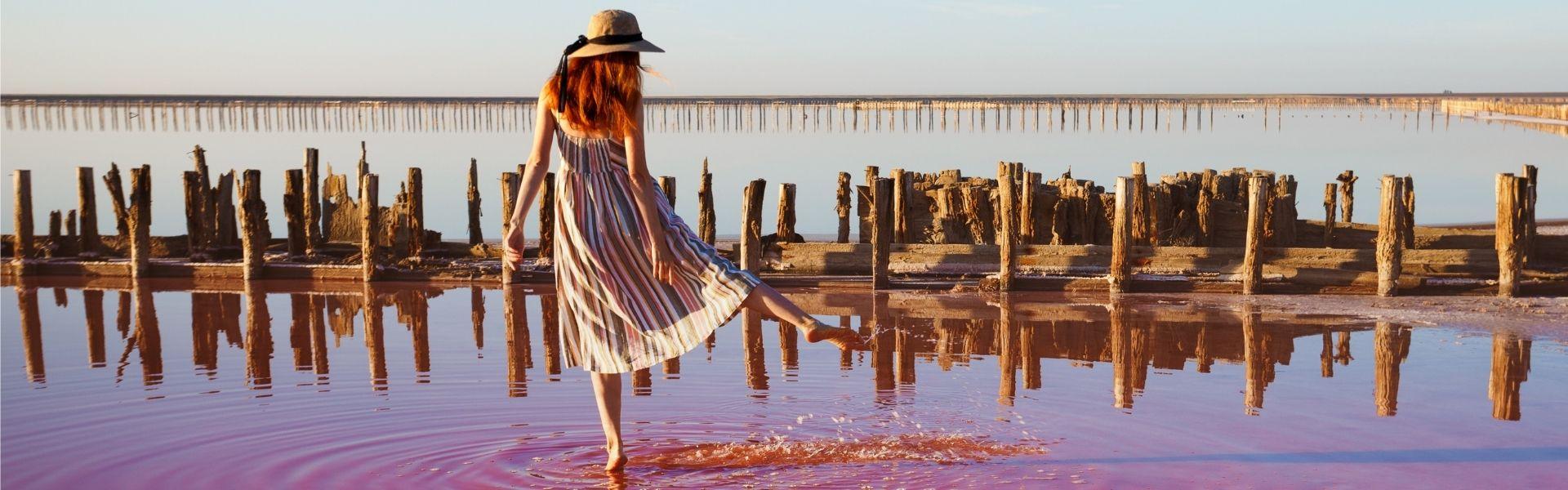 Тур на розовые озера