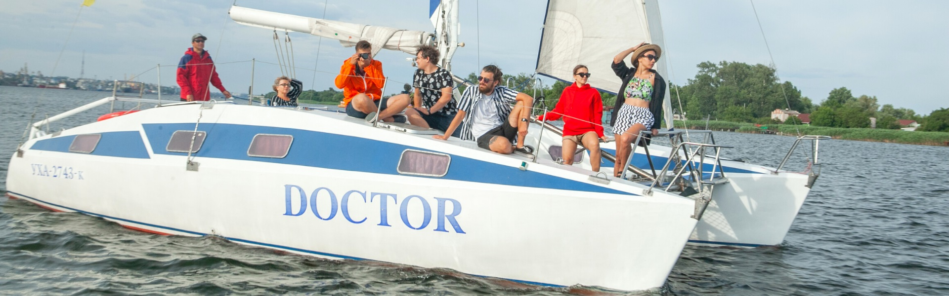 Аренда яхты «Доктор» в Херсоне