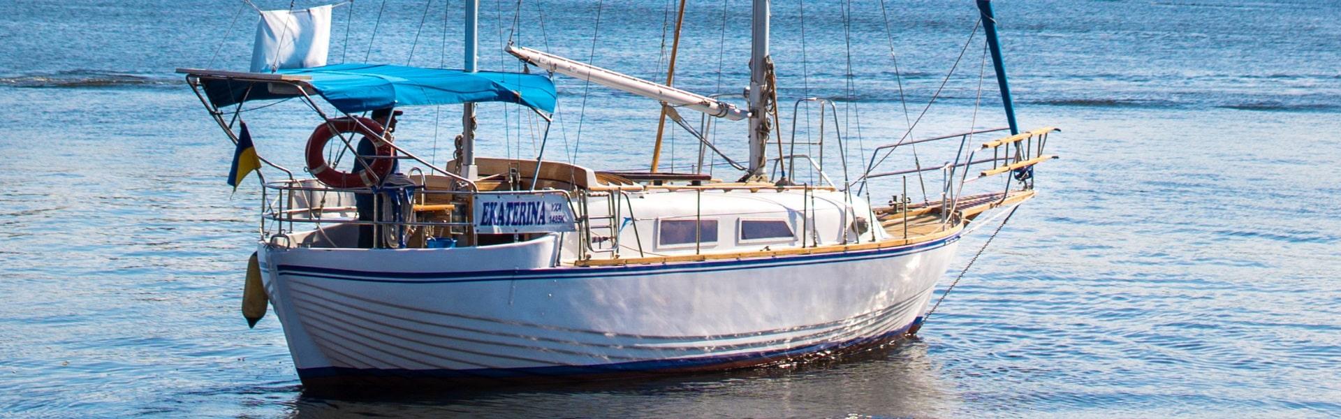 Аренда яхты «Екатерина» в Херсоне