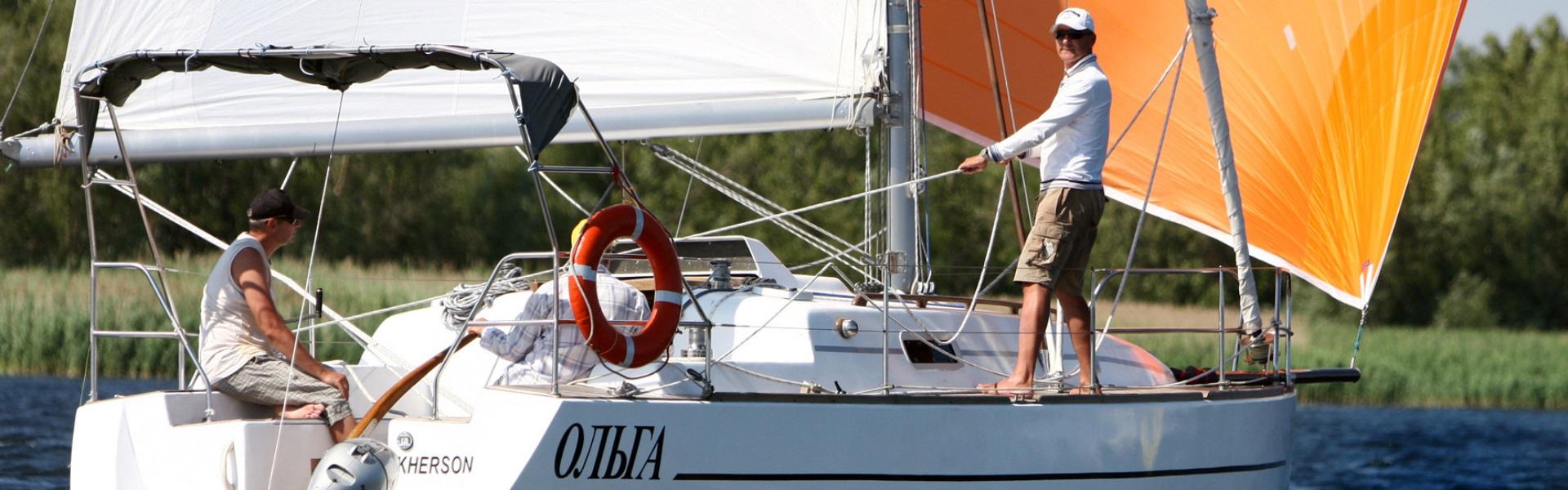 Аренда яхты «Ольга» в Херсоне