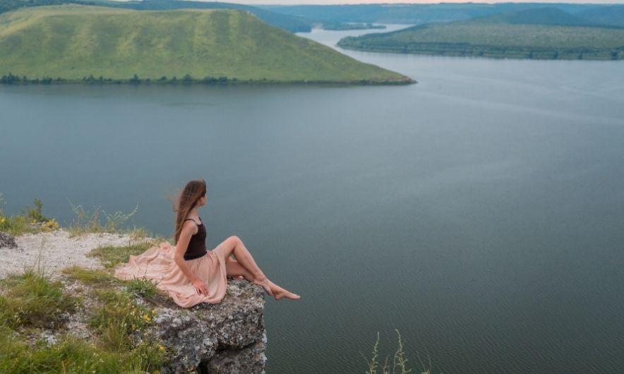 Вид на Бакотське водосховище