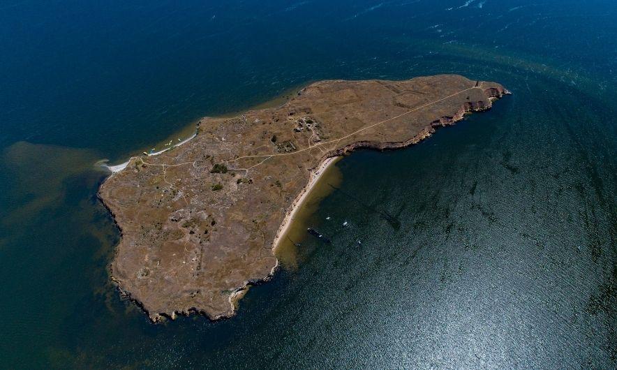 Остров с высоты