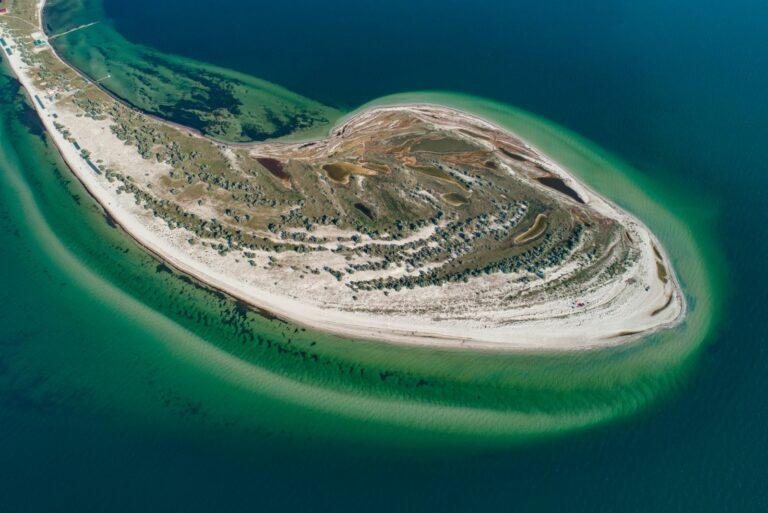 Остров сверху