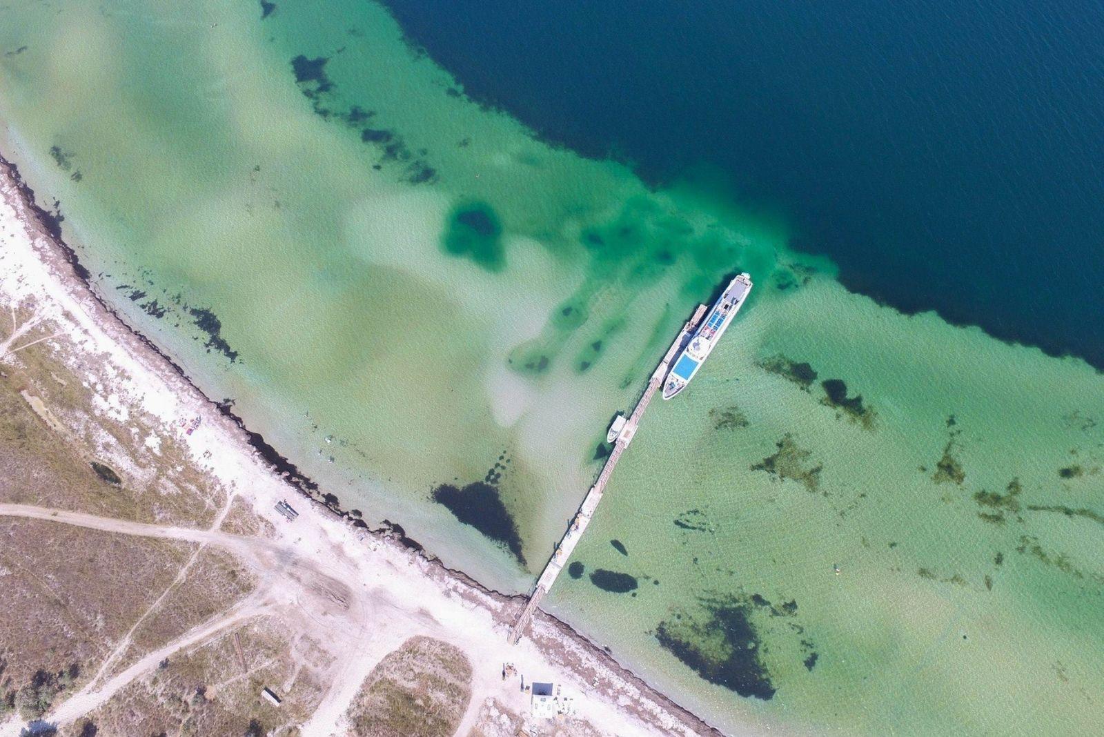 Пляжи на Джарылгаче
