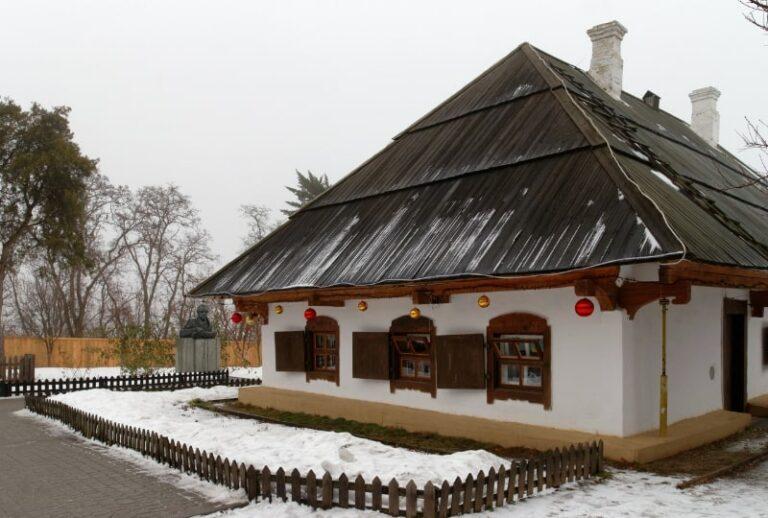 Музей-садиба Котляревського взимку
