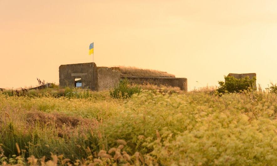 Форт на острове