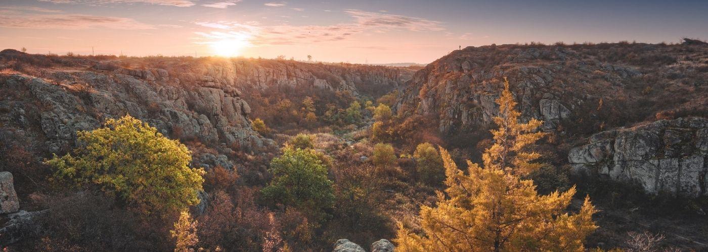 Арбузинський каньйон: фото, опис, поради