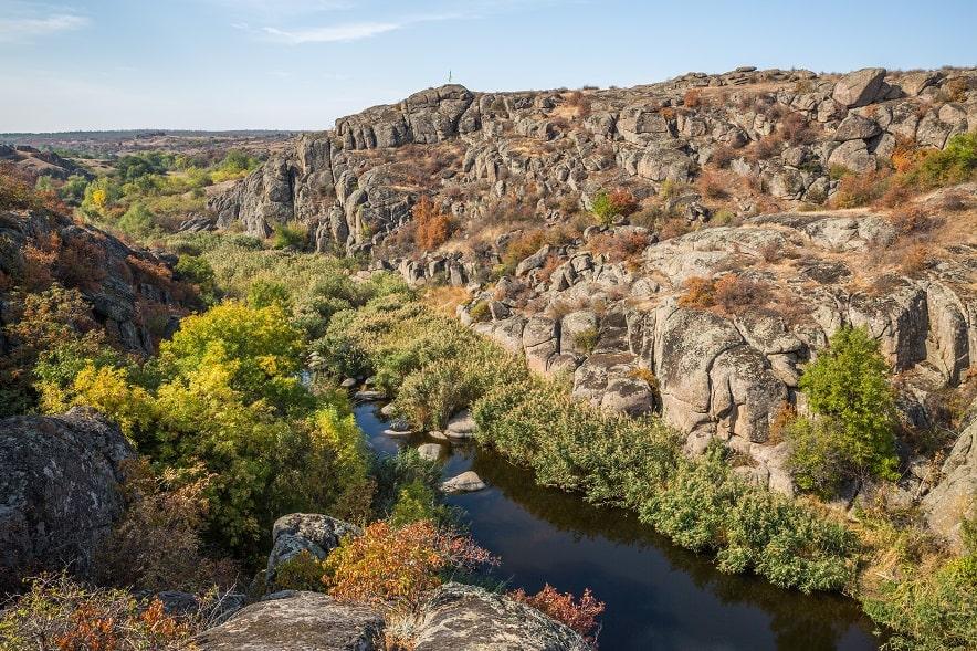 Каньйони України
