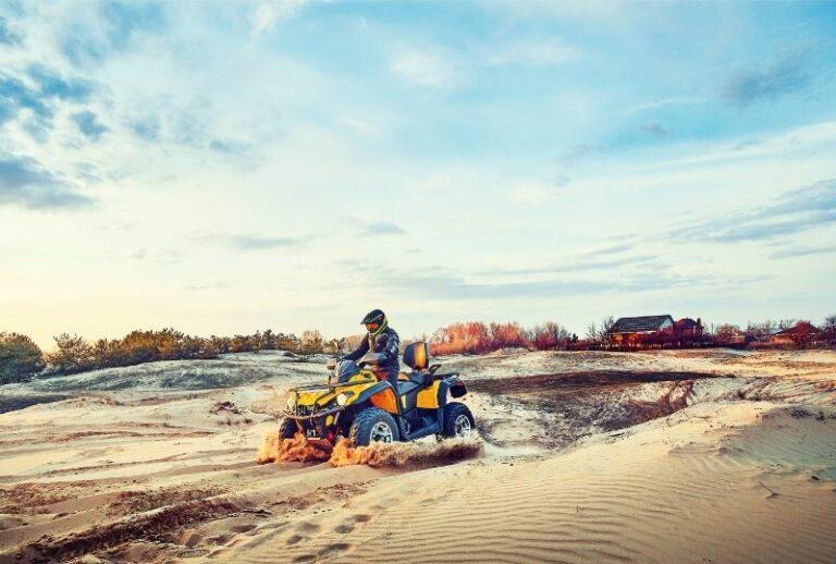Прогулянка на квадроциклах в пустелі Олешківські піски