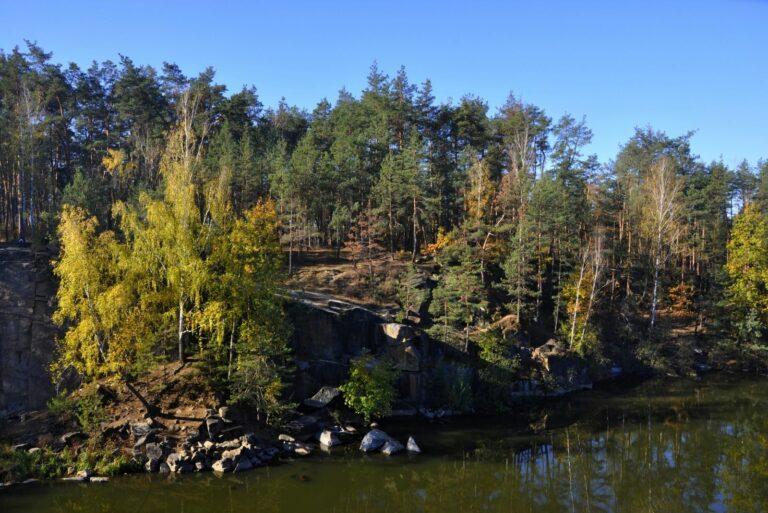 Природа Коростишівського каньйона