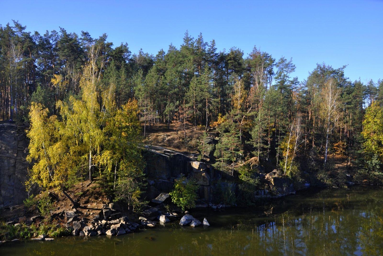 Природа Коростышевского каньона