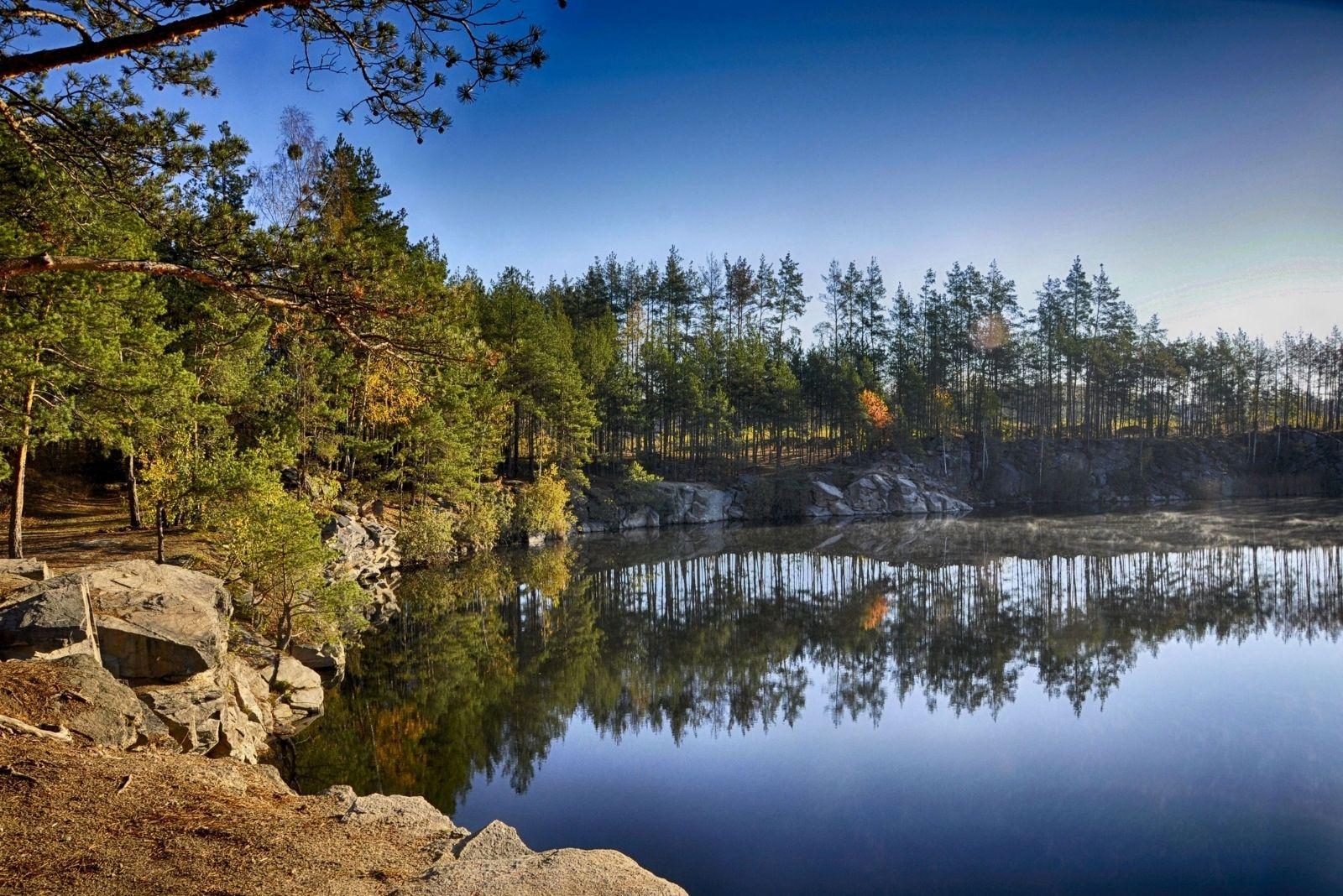 Вид на Коростышевский карьер
