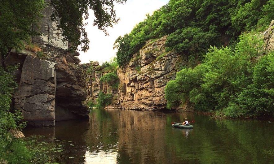 Релакс в каньойні