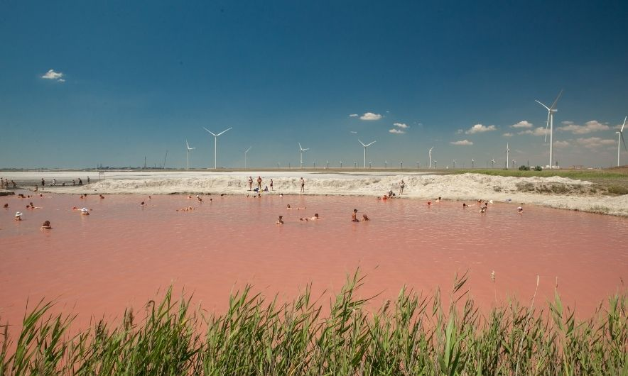 Мертвое озеро, Украина