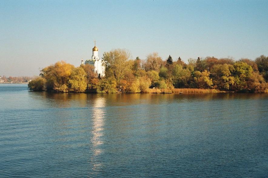 Монастирський острів, Дніпро