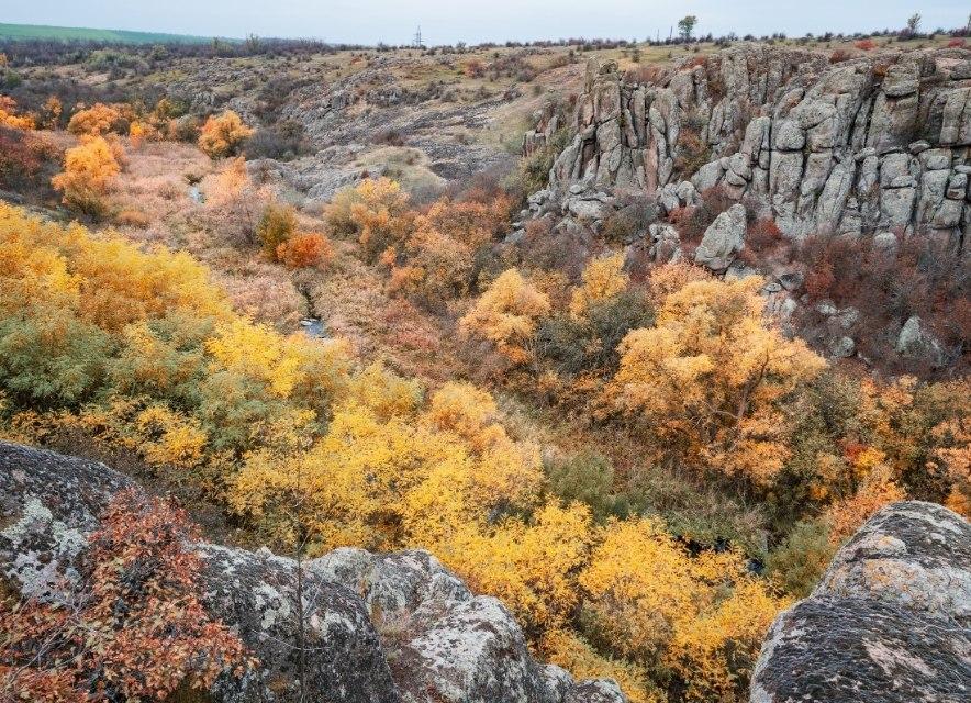 Красочный каньон