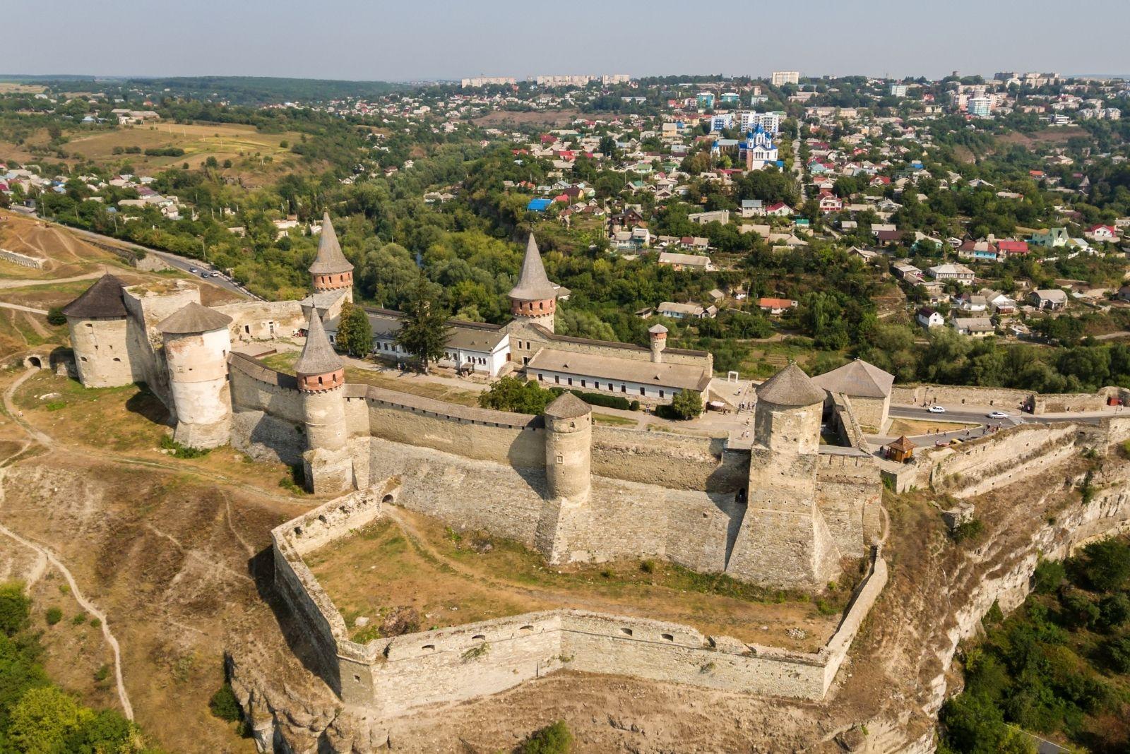 Панорама фортеці