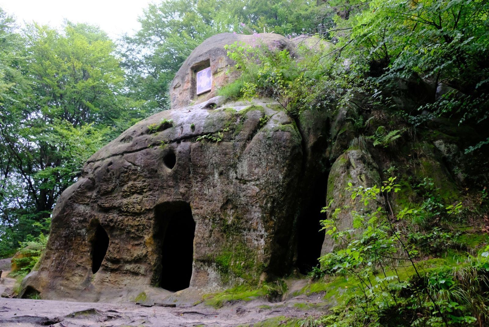 Печери у Розгирчому