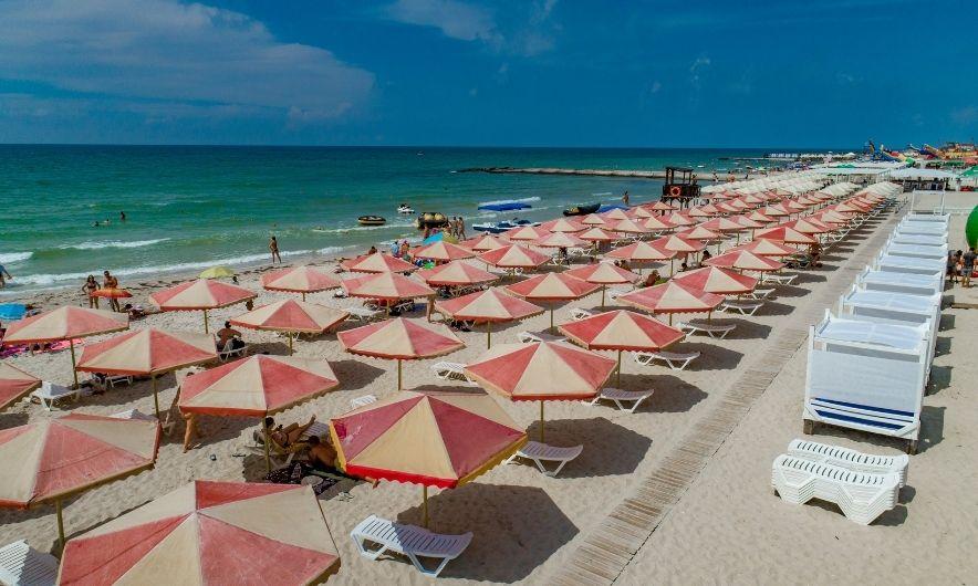 Пляж у Залізному Порту