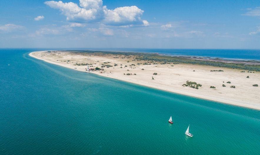 Пляж Тендры