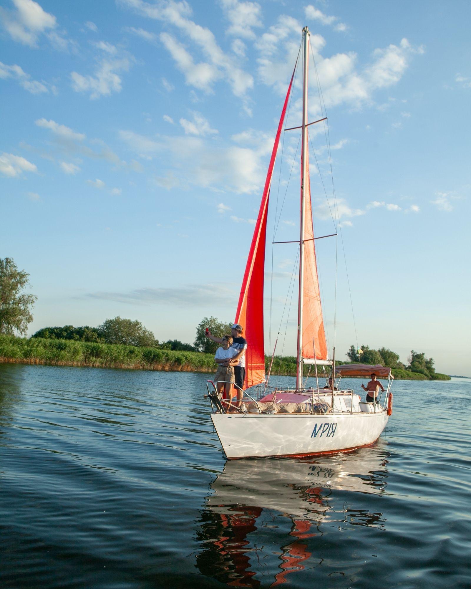 фото яхты