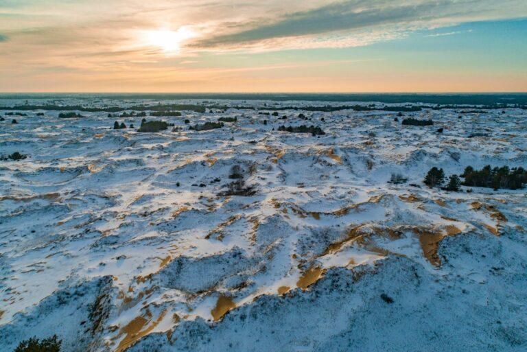 Заснеженная пустыня