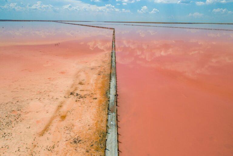 Розовое озеро, Херсонская область