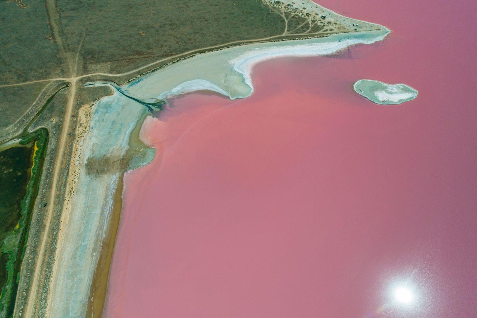 Розовое озеро Сиваш