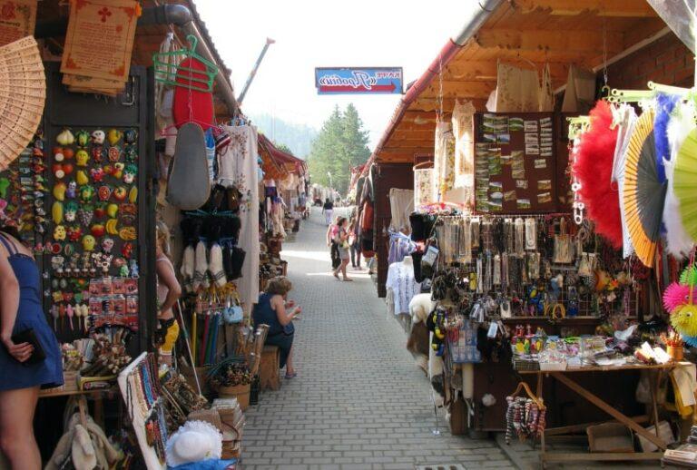 Ринок в Яремче