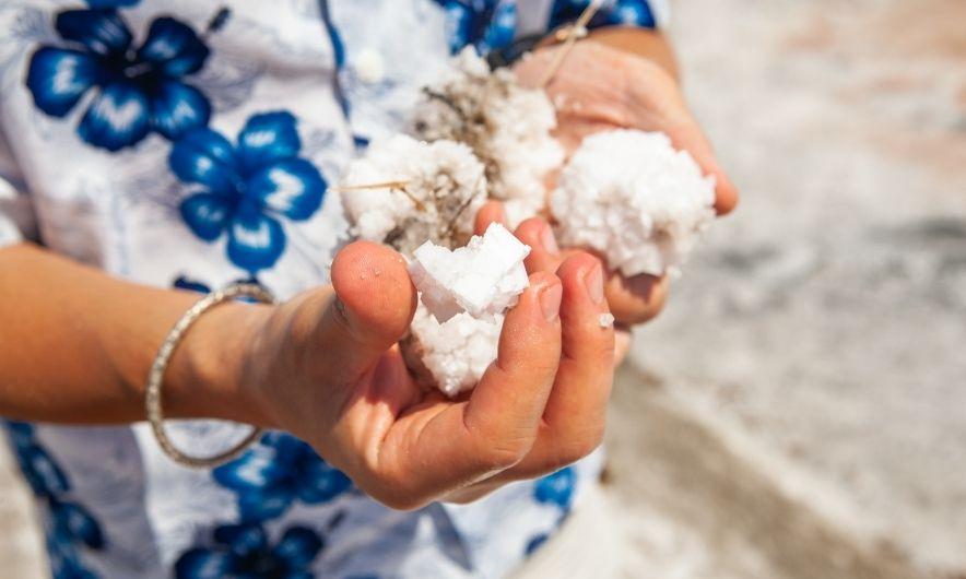 Соль Мертвого озера