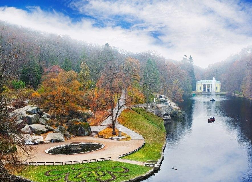 Краєвид на Софіївський парк