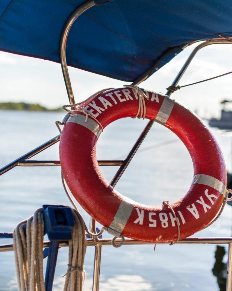 Фотогеничная яхта