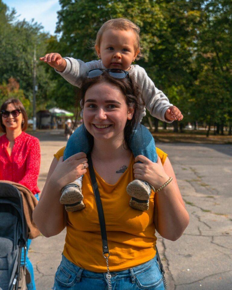 Ребенок на экскурсии