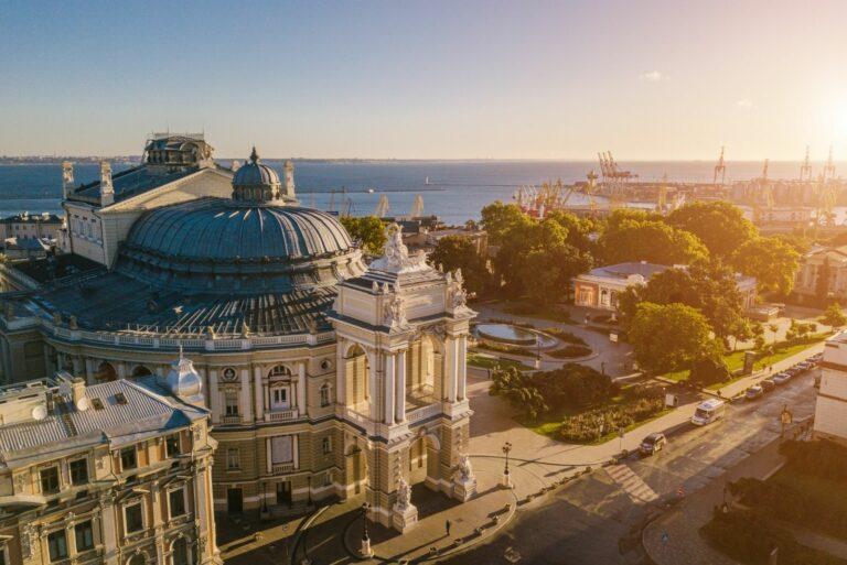 Зхід сонця в Одесі