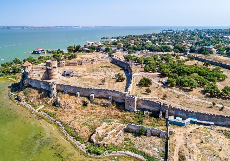 Аккерманская крепость с высоты