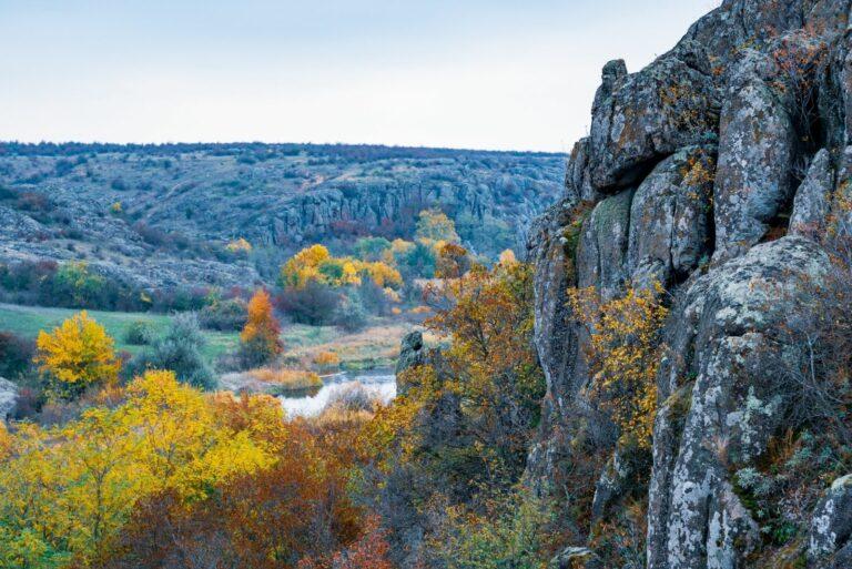 Пейзаж в Актово