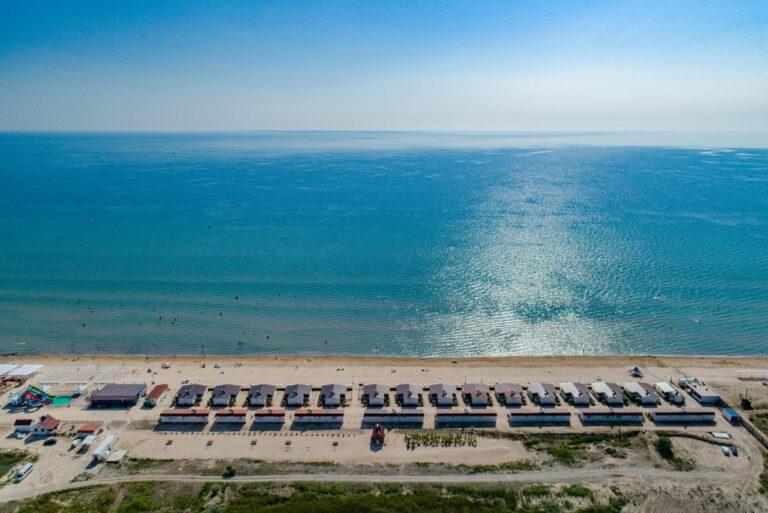 Вид на море з пляжу