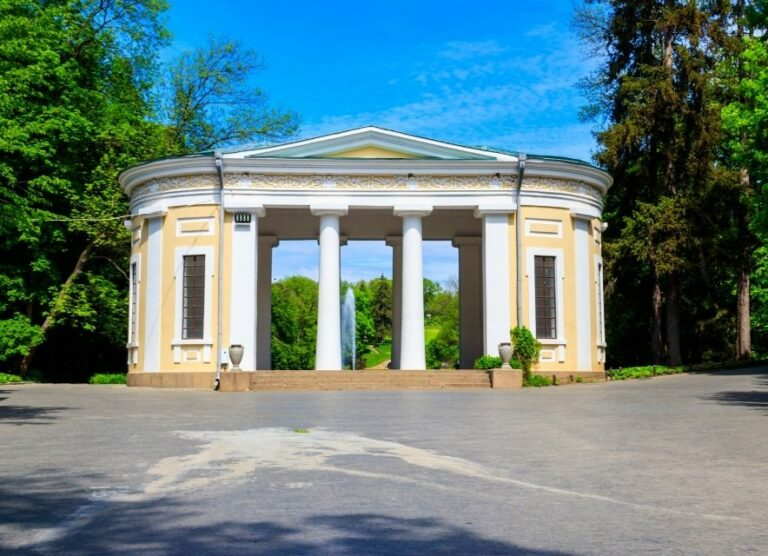 Софіївський парк арка