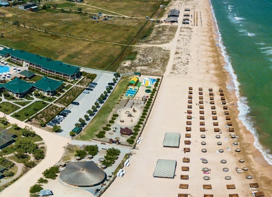 Азовське море, курорт
